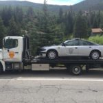 West Vail Shell towing state patrol