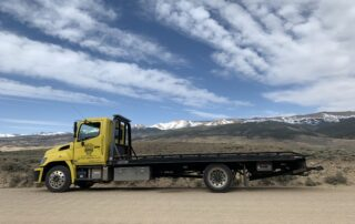 Gypsum towing - West Vail Shell
